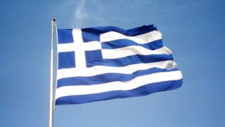 Greek flag. Photo by Mario's Planet at Flickr, CC-BY-NC.